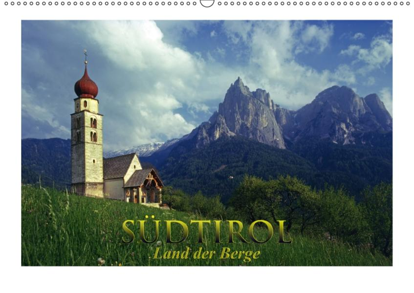 SÜDTIROL - Land der Berge (Wandkalender 2017 DIN A2 quer) - Coverbild