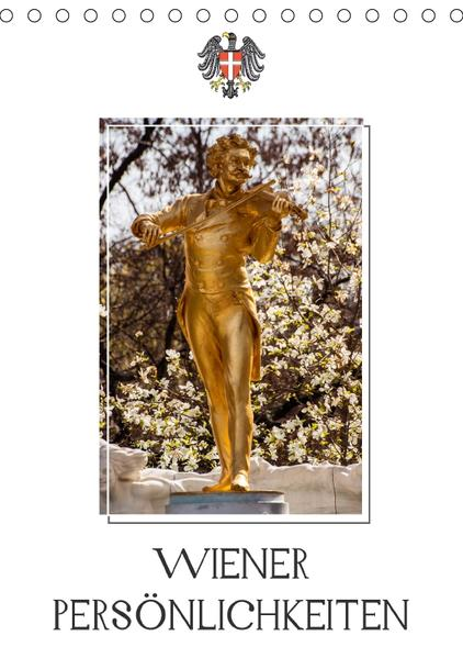 Wiener PersönlichkeitenAT-Version  (Tischkalender 2017 DIN A5 hoch) - Coverbild