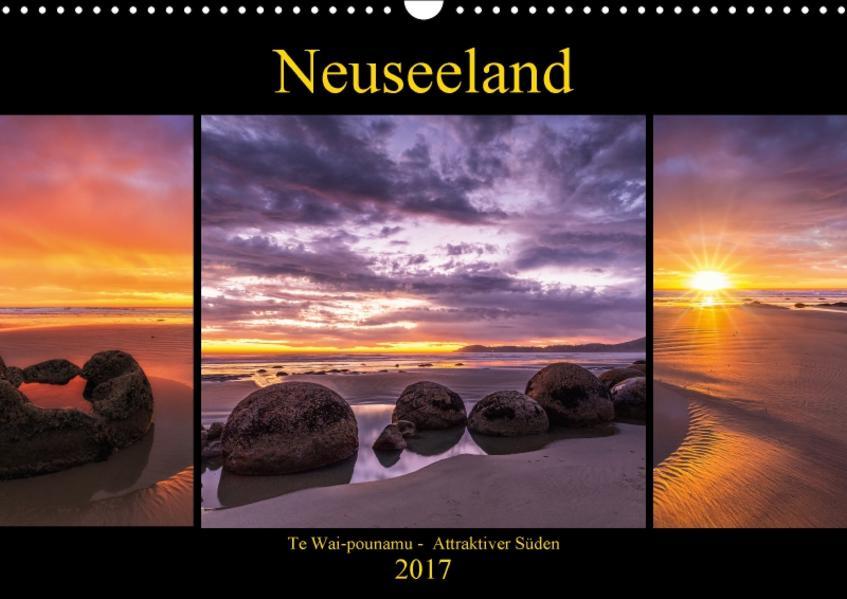 Neuseeland - Attraktiver Süden (Wandkalender 2017 DIN A3 quer) - Coverbild