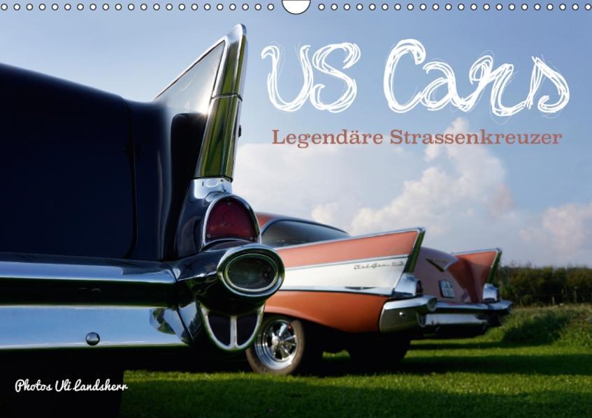 US Cars Legendäre Strassenkreuzer (Wandkalender 2017 DIN A3 quer) - Coverbild