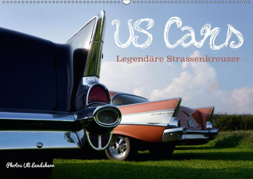 US Cars Legendäre Strassenkreuzer (Wandkalender 2017 DIN A2 quer) - Coverbild