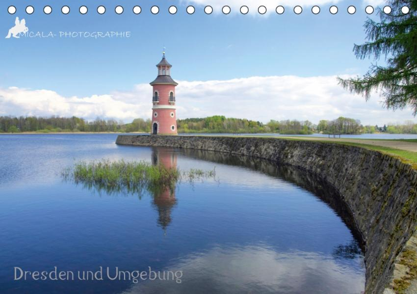 Dresden und Umgebung (Tischkalender 2017 DIN A5 quer) - Coverbild