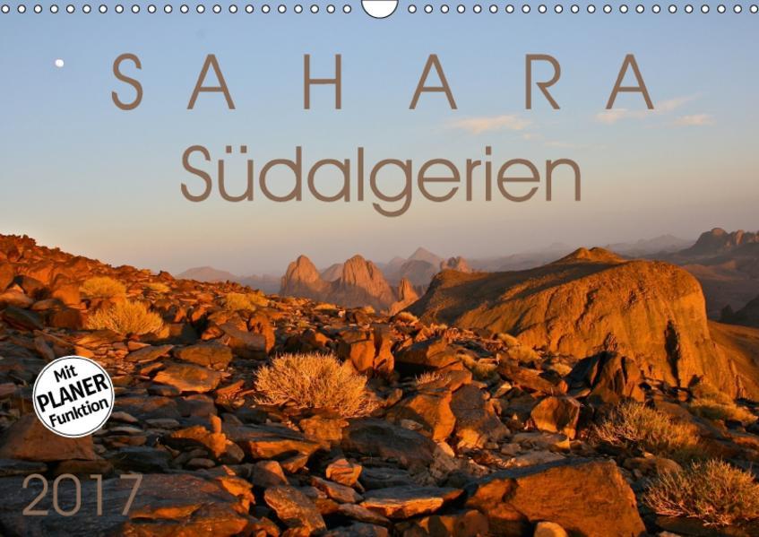 Sahara - Südalgerien (Wandkalender 2017 DIN A3 quer) - Coverbild