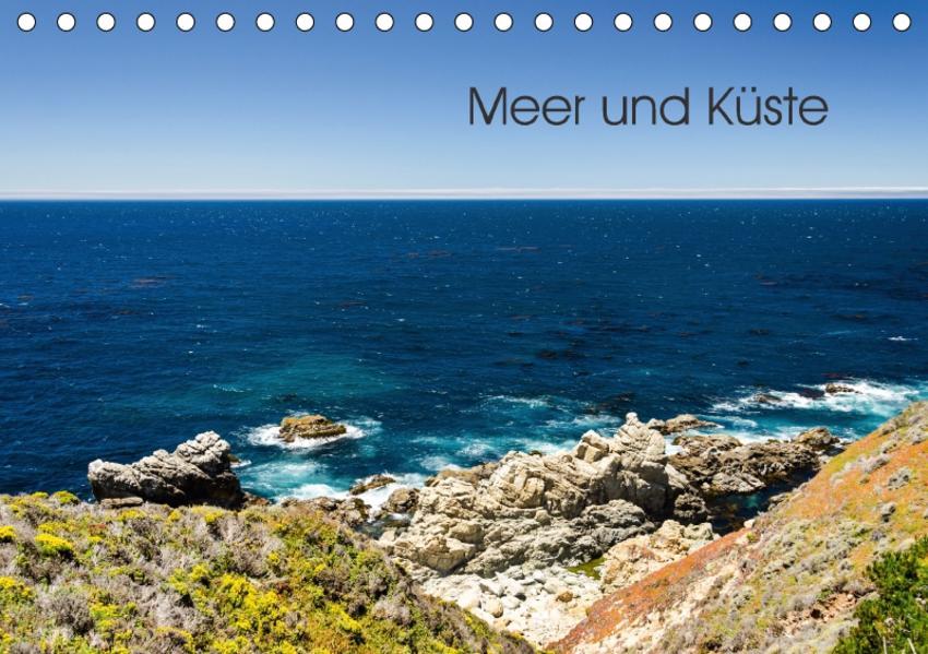 Meer und Küste (Tischkalender 2017 DIN A5 quer) - Coverbild