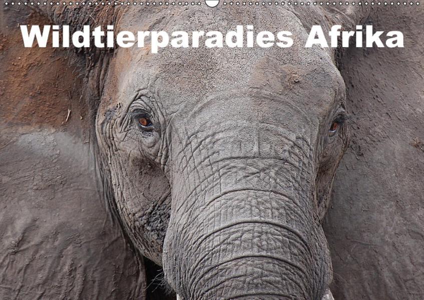 Wildtierparadies Afrika (Wandkalender 2017 DIN A2 quer) - Coverbild