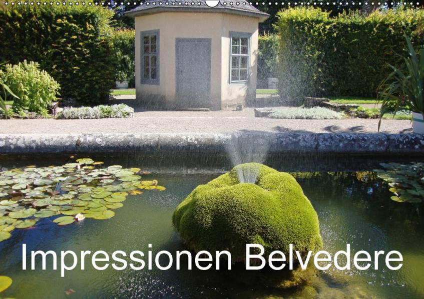 Impressionen Belvedere (Wandkalender 2017 DIN A2 quer) - Coverbild