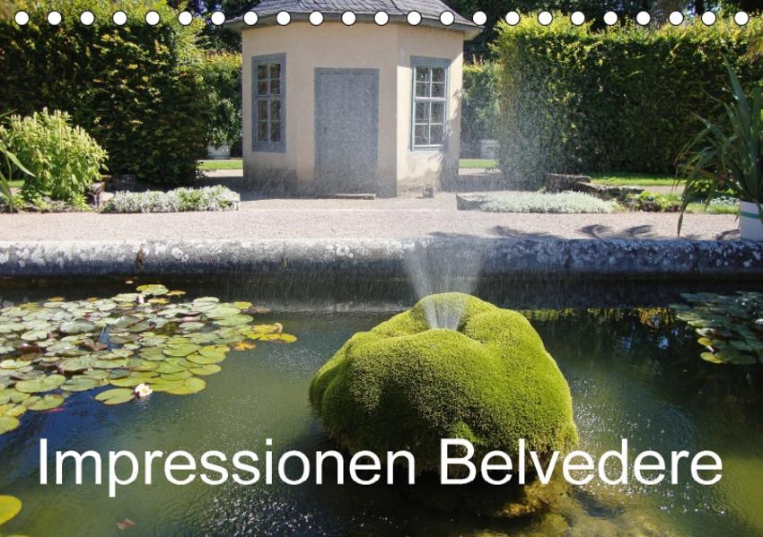 Impressionen Belvedere (Tischkalender 2017 DIN A5 quer) - Coverbild