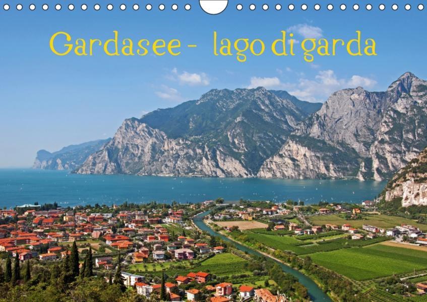 Gardasee - lago di Garda by Sascha Ferrari (Wandkalender 2017 DIN A4 quer) - Coverbild