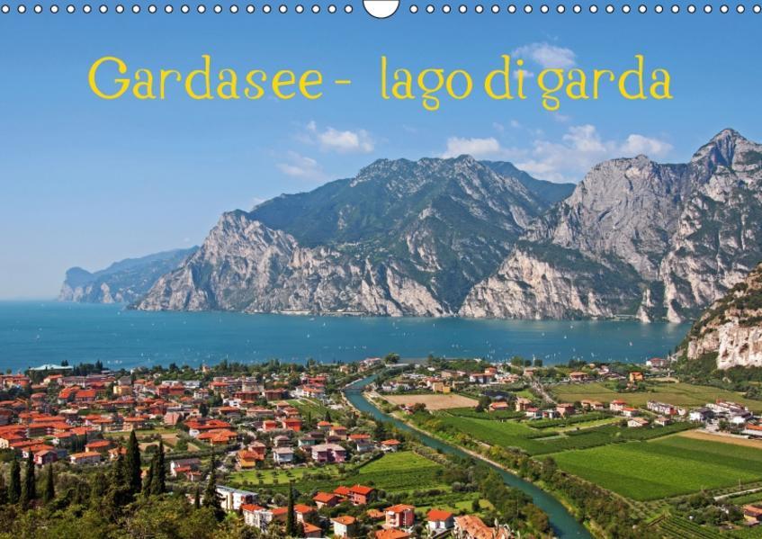 Gardasee - lago di Garda by Sascha Ferrari (Wandkalender 2017 DIN A3 quer) - Coverbild