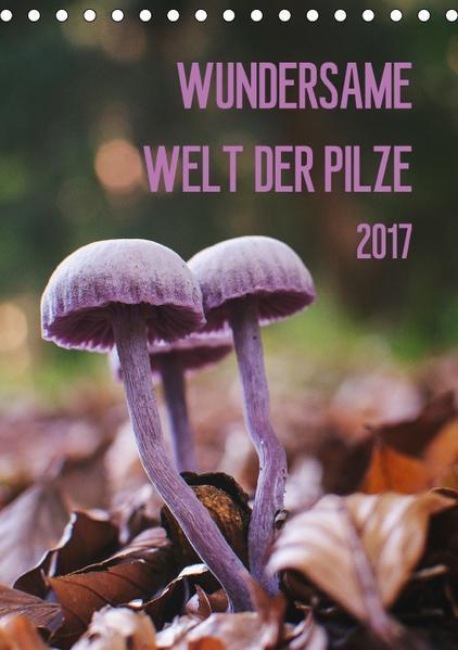 Wundersame Welt der Pilze (Tischkalender 2017 DIN A5 hoch) - Coverbild