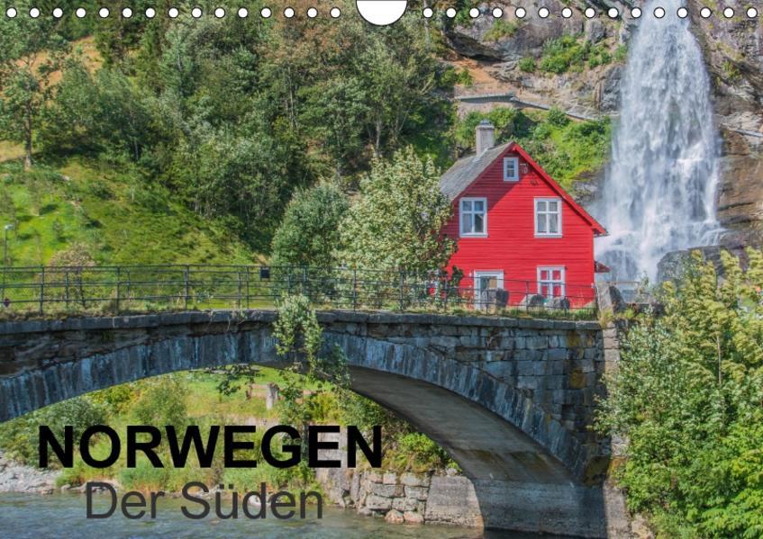 Norwegen - Der Süden (Wandkalender 2017 DIN A4 quer) - Coverbild