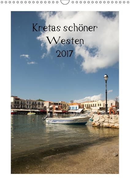 Kretas schöner Westen (Wandkalender 2017 DIN A3 hoch) - Coverbild