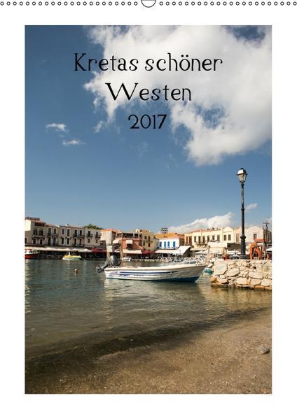 Kretas schöner Westen (Wandkalender 2017 DIN A2 hoch) - Coverbild