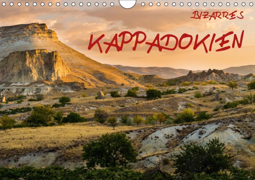 Bizarres Kappadokien (Wandkalender 2017 DIN A4 quer) - Coverbild