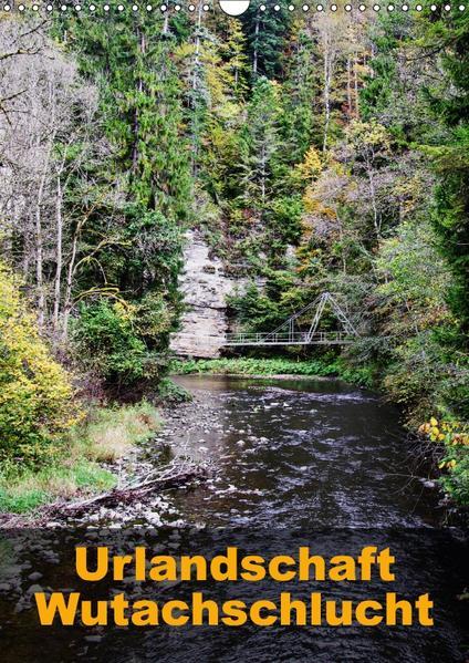 Urlandschaft Wutachschlucht (Wandkalender 2017 DIN A3 hoch) - Coverbild