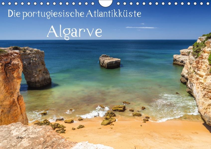 Die portugiesische Atlantikküste - AlgarveAT-Version  (Wandkalender 2017 DIN A4 quer) - Coverbild