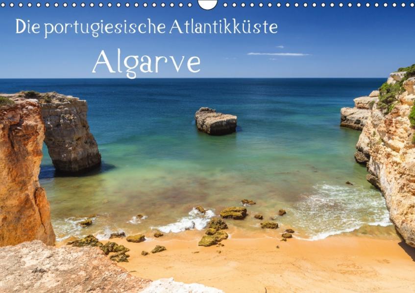 Die portugiesische Atlantikküste - AlgarveAT-Version  (Wandkalender 2017 DIN A3 quer) - Coverbild