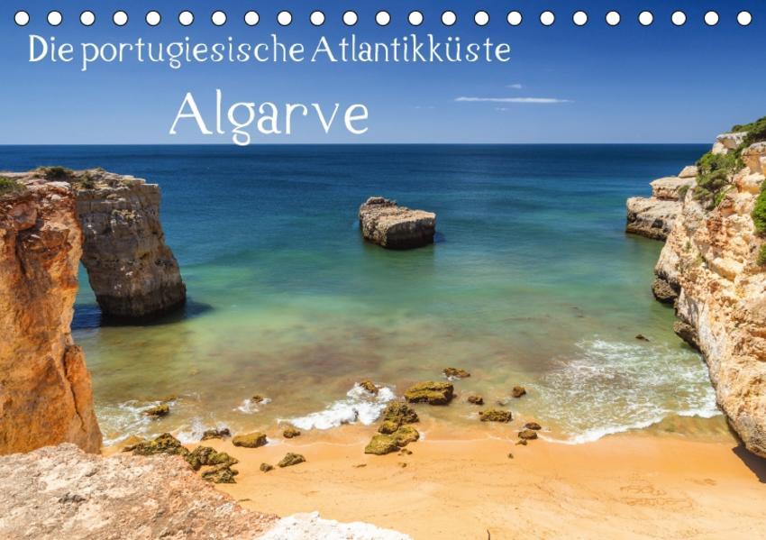 Die portugiesische Atlantikküste - AlgarveAT-Version  (Tischkalender 2017 DIN A5 quer) - Coverbild