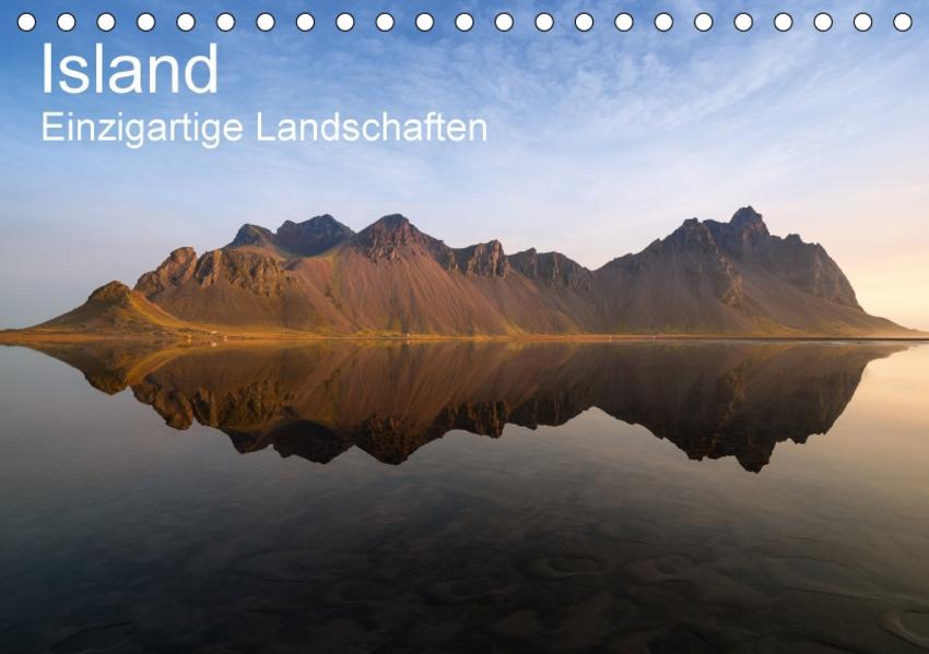 Island - einzigartige Landschaften (Tischkalender 2017 DIN A5 quer) - Coverbild