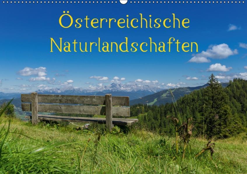Österreichische NaturlandschaftenAT-Version  (Wandkalender 2017 DIN A2 quer) - Coverbild