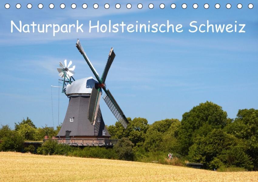 Naturpark Holsteinische Schweiz (Tischkalender 2017 DIN A5 quer) - Coverbild