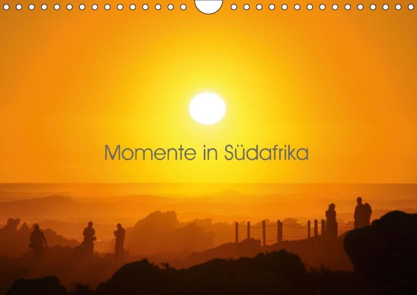 Momente in Südafrika (Wandkalender 2017 DIN A4 quer) - Coverbild
