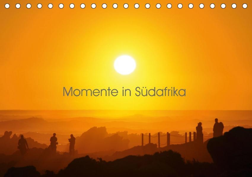 Momente in Südafrika (Tischkalender 2017 DIN A5 quer) - Coverbild