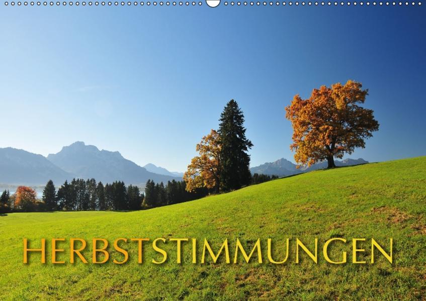 Herbststimmungen (Wandkalender 2017 DIN A2 quer) - Coverbild