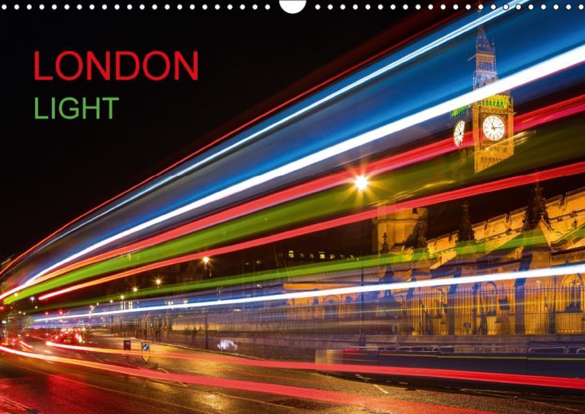 London Light (Wandkalender 2017 DIN A3 quer) - Coverbild