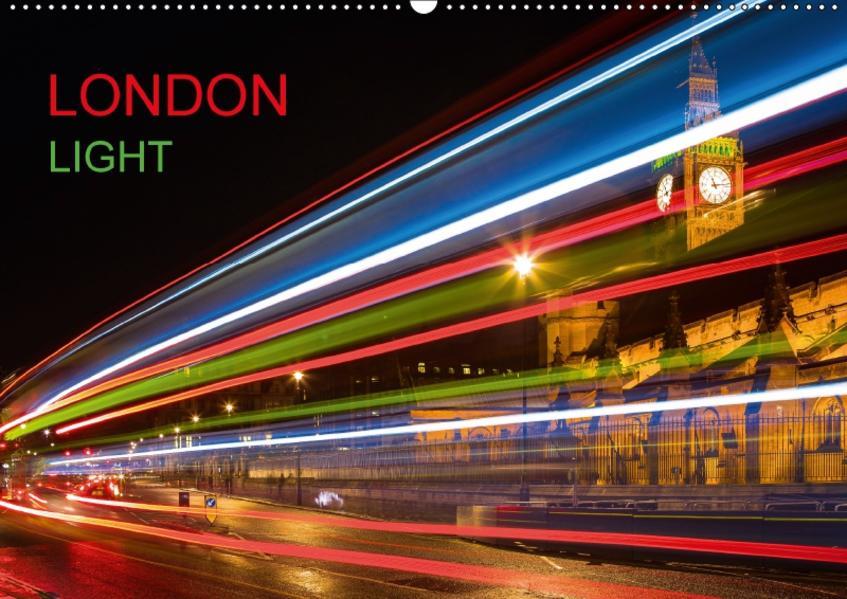London Light (Wandkalender 2017 DIN A2 quer) - Coverbild
