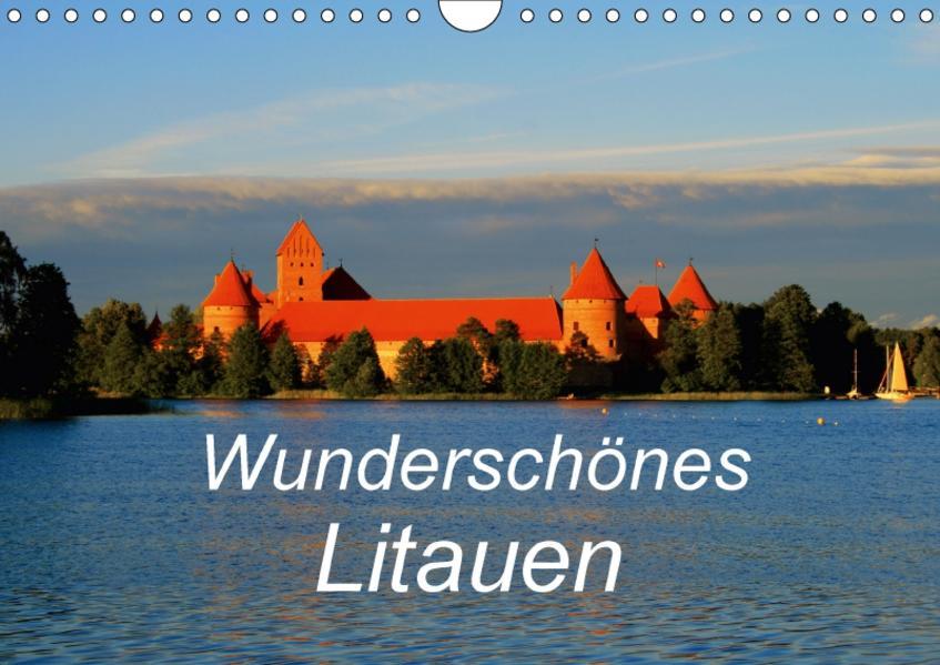 Wunderschönes Litauen (Wandkalender 2017 DIN A4 quer) - Coverbild