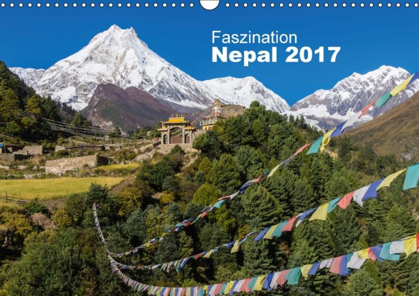 Faszination Nepal (Wandkalender 2017 DIN A3 quer) - Coverbild