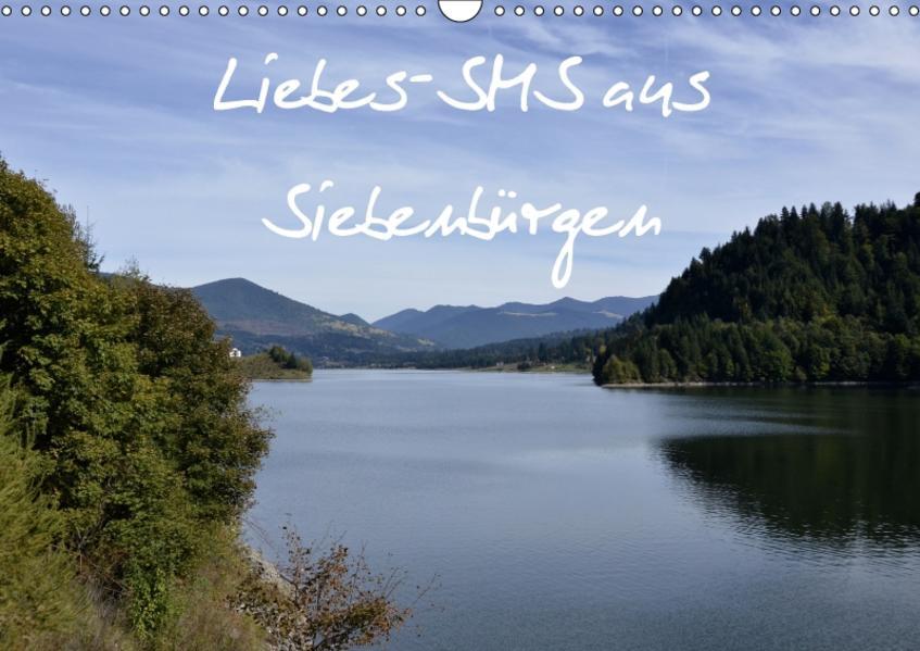 Liebes-SMS aus SiebenbürgenAT-Version  (Wandkalender 2017 DIN A3 quer) - Coverbild