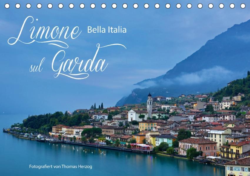 Limone sul Garda - Bella Italia (Tischkalender 2017 DIN A5 quer) - Coverbild