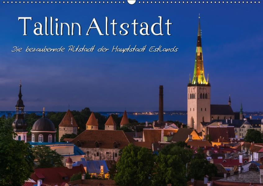 Tallinn Altstadt (Wandkalender 2017 DIN A2 quer) - Coverbild
