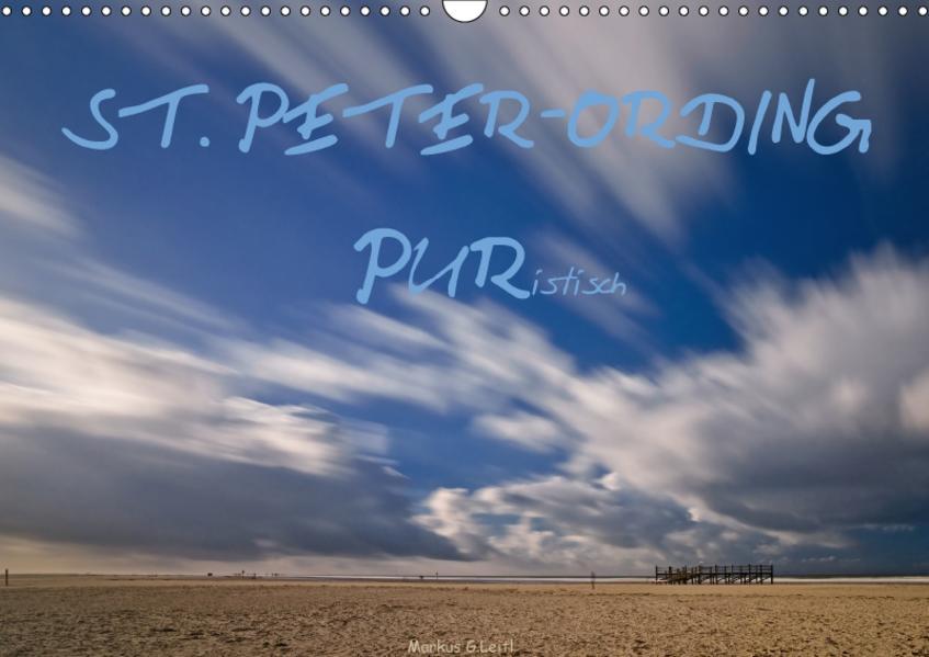 ST. PETER-ORDING PURistisch (Wandkalender 2017 DIN A3 quer) - Coverbild
