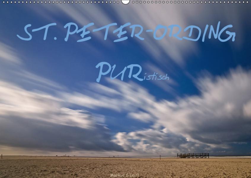 ST. PETER-ORDING PURistisch (Wandkalender 2017 DIN A2 quer) - Coverbild