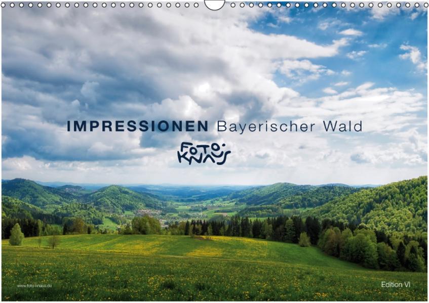 IMPRESSIONEN Bayerischer Wald (Wandkalender 2017 DIN A3 quer) - Coverbild