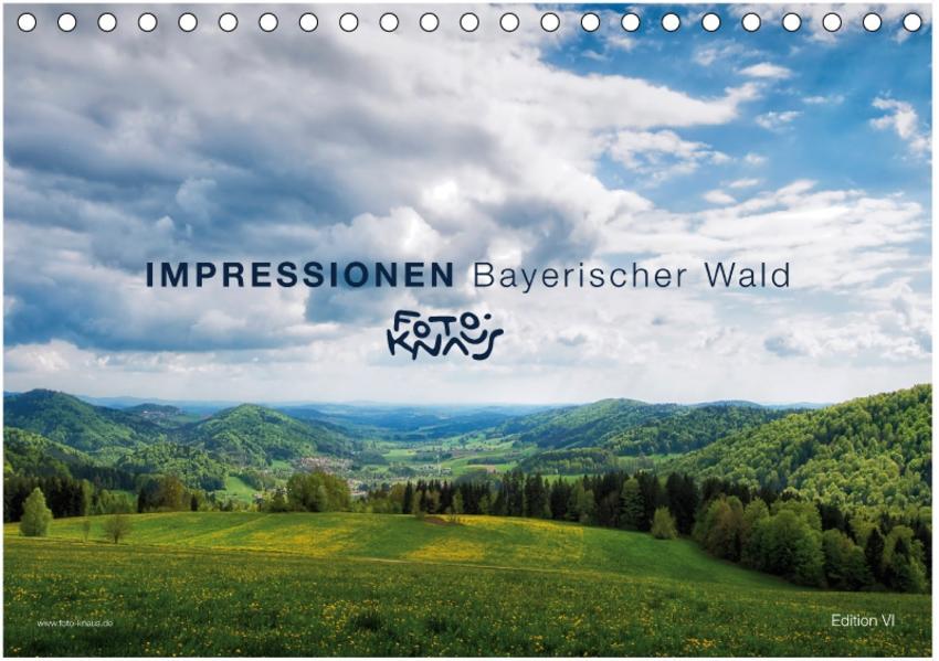 IMPRESSIONEN Bayerischer Wald (Tischkalender 2017 DIN A5 quer) - Coverbild