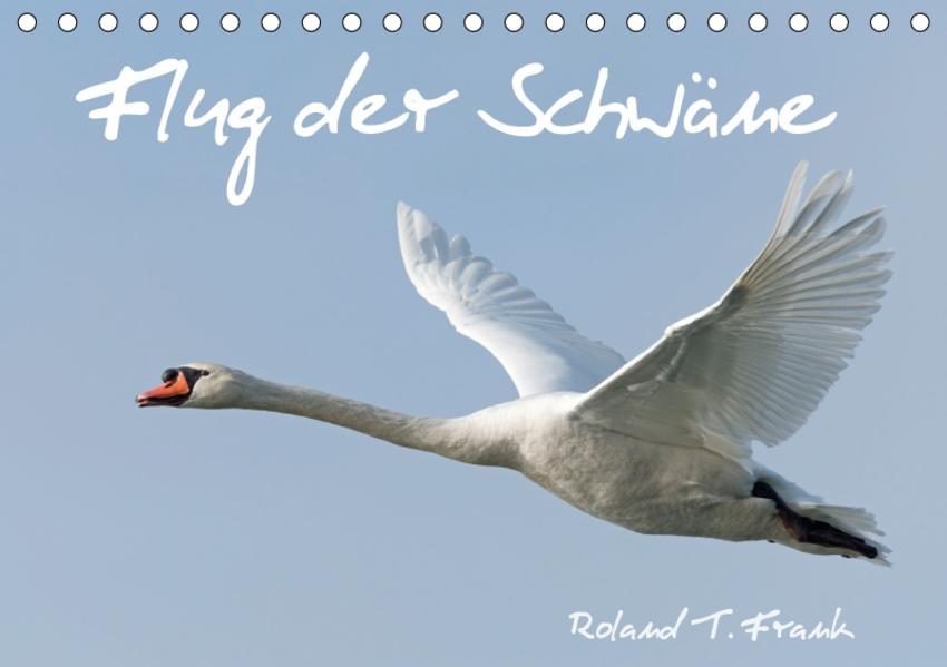 Flug der SchwäneAT-Version  (Tischkalender 2017 DIN A5 quer) - Coverbild