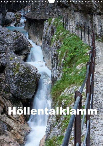 Höllentalklamm (Wandkalender 2017 DIN A3 hoch) - Coverbild