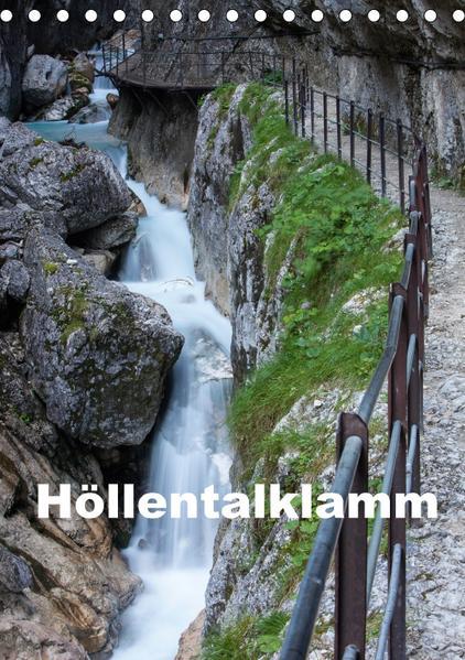 Höllentalklamm (Tischkalender 2017 DIN A5 hoch) - Coverbild
