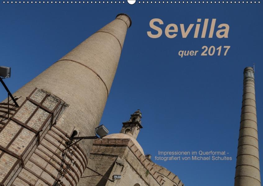 Sevilla quer 2017AT-Version  (Wandkalender 2017 DIN A2 quer) - Coverbild