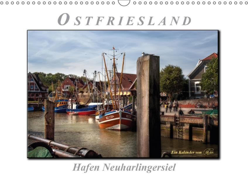 Ostfriesland - Hafen Neuharlingersiel (Wandkalender 2017 DIN A3 quer) - Coverbild