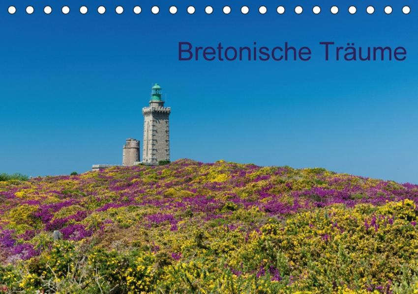 Bretonische Träume (Tischkalender 2017 DIN A5 quer) - Coverbild