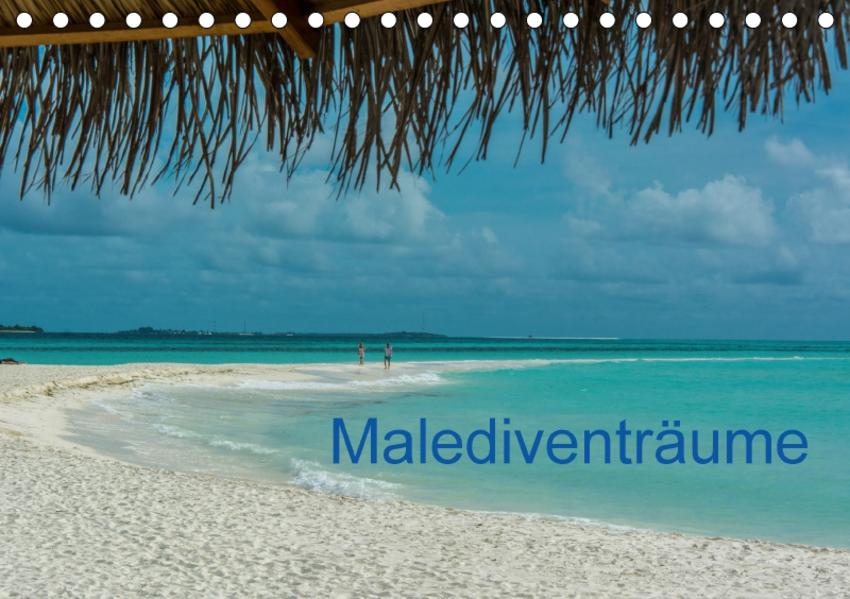 Malediventräume (Tischkalender 2017 DIN A5 quer) - Coverbild