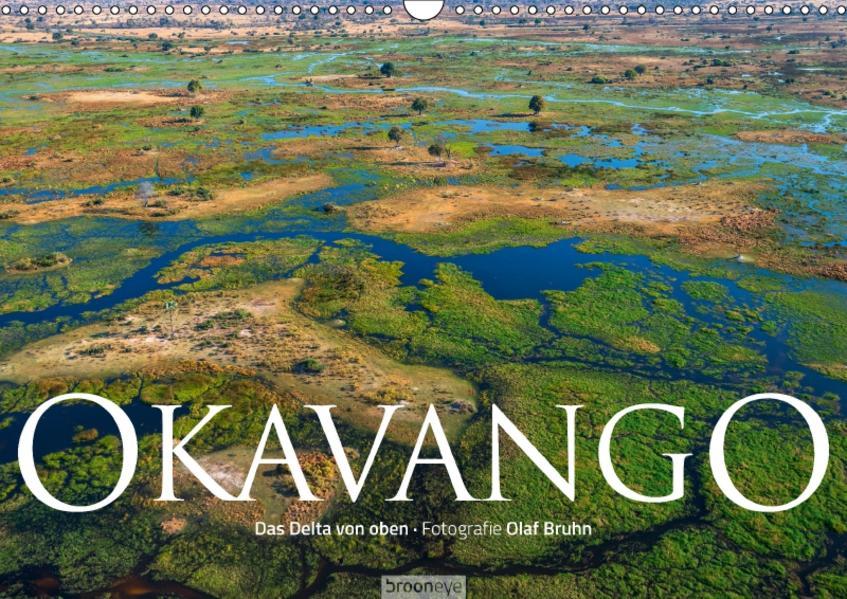 Okavango - Das Delta von oben (Wandkalender 2017 DIN A3 quer) - Coverbild
