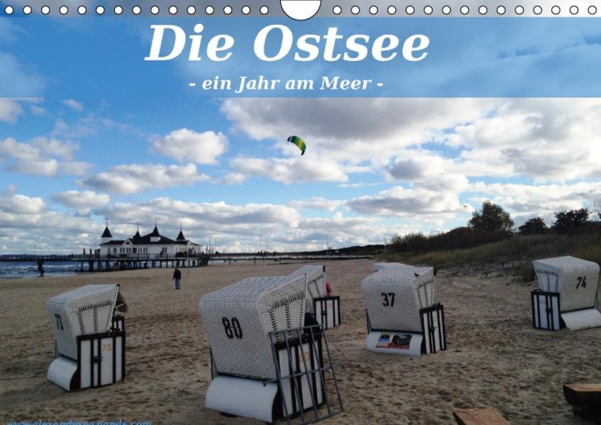 Die Ostsee - Ein Jahr am Meer (Wandkalender 2017 DIN A4 quer) - Coverbild