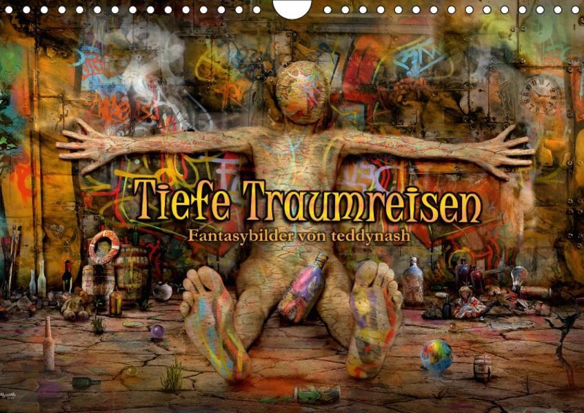 Tiefe Traumreisen (Wandkalender 2017 DIN A4 quer) - Coverbild