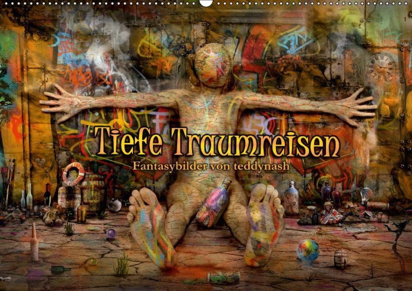 Tiefe Traumreisen (Wandkalender 2017 DIN A2 quer) - Coverbild